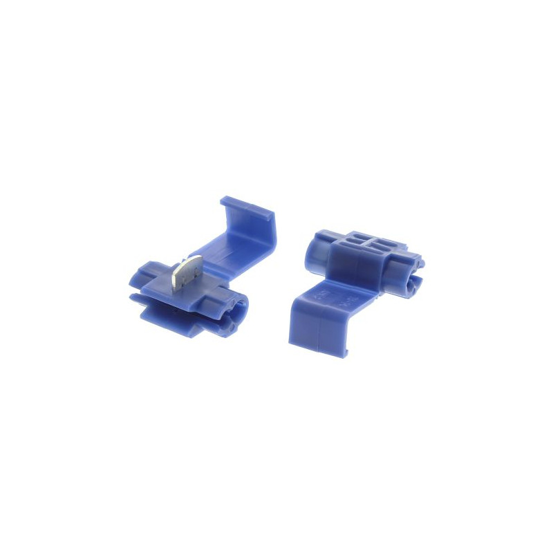 Wire Splice Connector Blue Insulated 18-14 AWG
