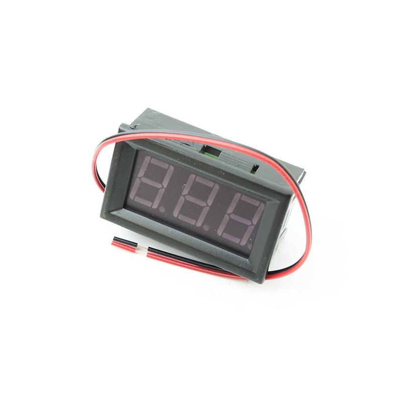 Digital Voltmeter Red 220V AC