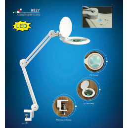 Lamp with magnifying glass 90 LED