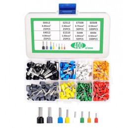 Bootlace Ferrules Kit 400pcs
