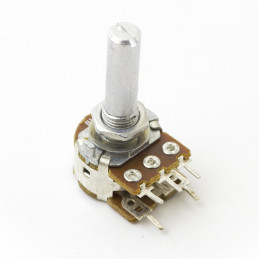 Potentiometer single turn carbon linear PCB 10K with Switch