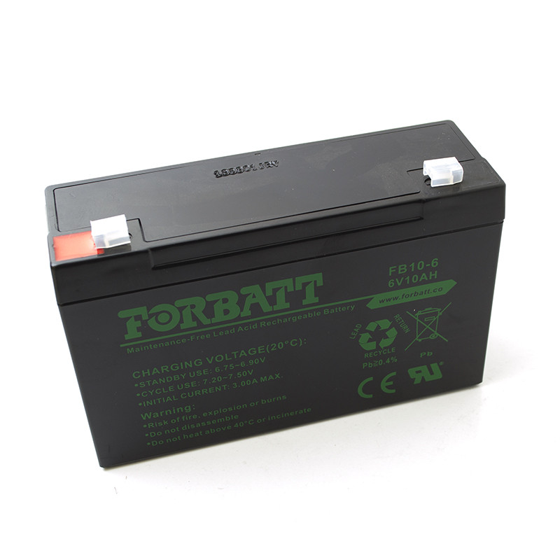 Lead Acid Battery 6V 10AHR