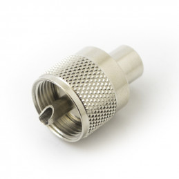 PL259 Plug with Reducer 5mm