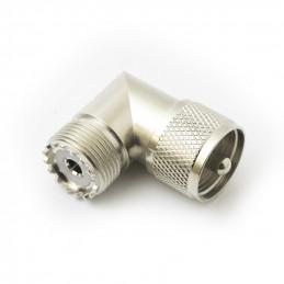Adaptor R/A UHF Plug to UHF Socket