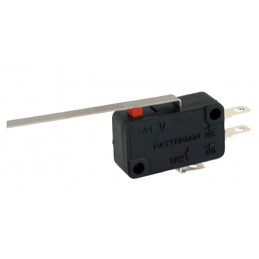 B180L micro switch SPDT LEVER 51mm TAG