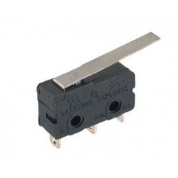 B175C Mini micro Switch lever 25mm Tag