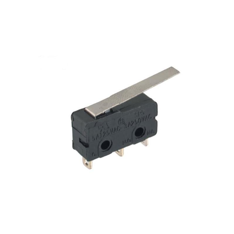 B175C Mini micro Switch lever 25mm Tag