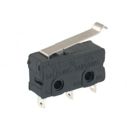 B175D Mini micro Switch Lever 19mm Tag