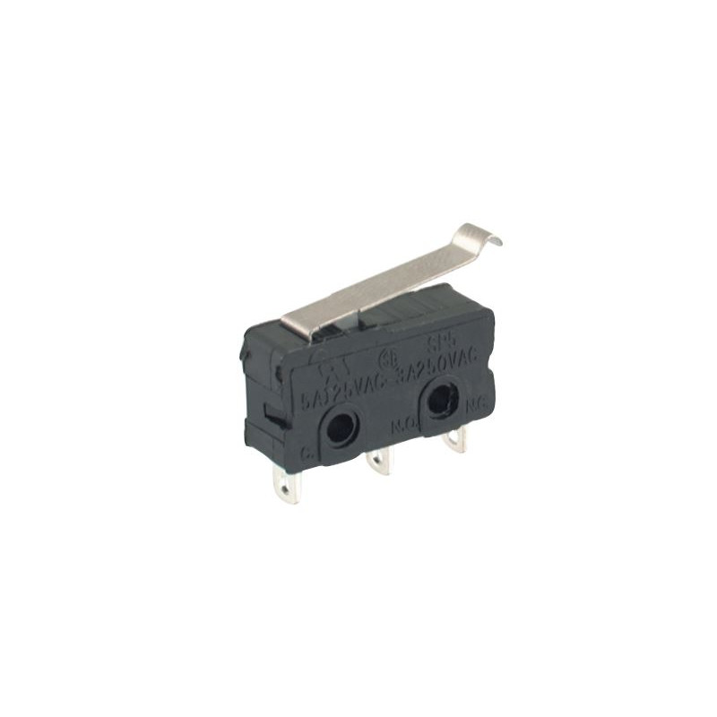 B175D Mini micro Switch Lever 19mm Tag