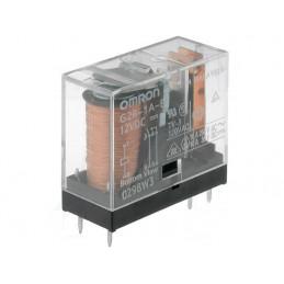 G2R-1A-E12VDC 12V dc Coil Non-Latching Relay SPNO, 16A PCB Mount