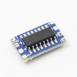MCU mini RS232 MAX3232 level to TTL level converter board serial