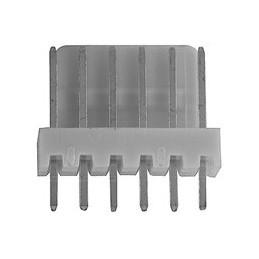 6410 5 Pin Friction Lock PCB Header Plug