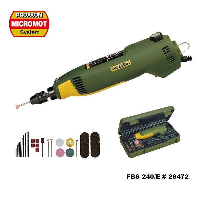 Proxxon 28472 Precision Drill Grinder FBS240/E 220VAC