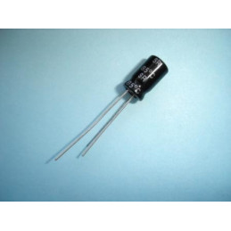 Electrolytic Radial 100uF 25V