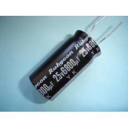 Electrolytic Radial 6800uF 25V