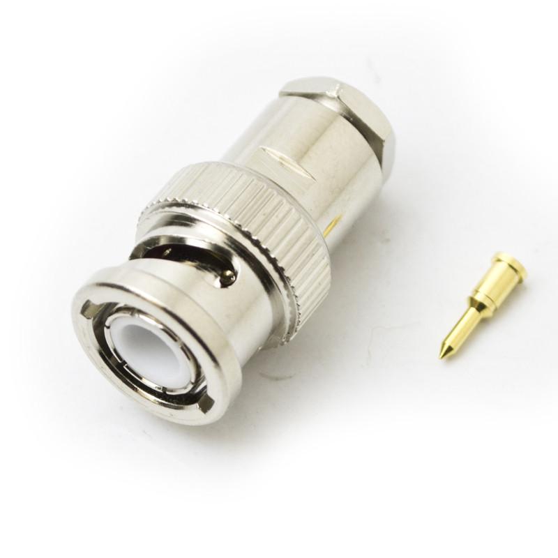 BNC Male clamp (RG58U)