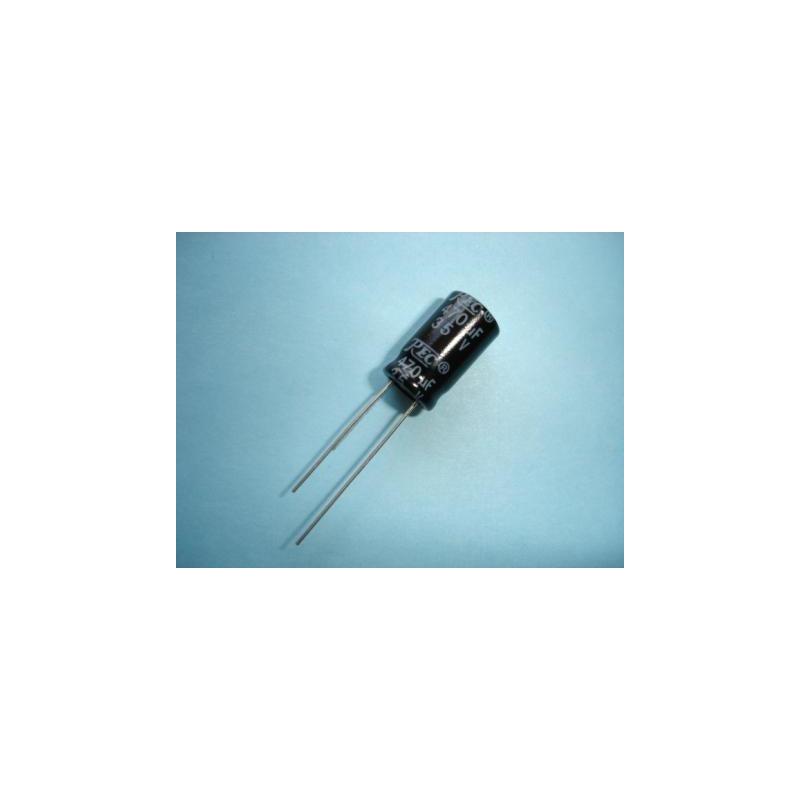 Electrolytic Radial 470uF 35V