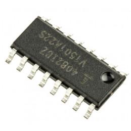 Intersil HIP4082IBZ Quad MOSFET Power Driver, 1.25A 16-Pin, SOIC