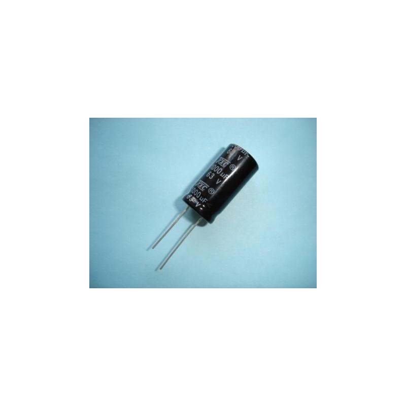 Electrolytic Radial 1000uF 63V