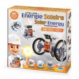 Solar Energy 14 in 1 Electronic Kit