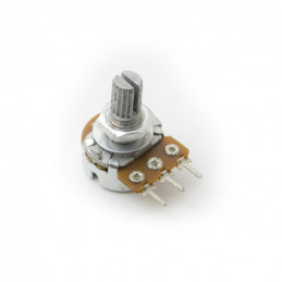 Potentiometer single turn carbon linear PCB 500K