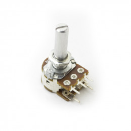 Potentiometer single turn carbon linear PCB 50K with Switch