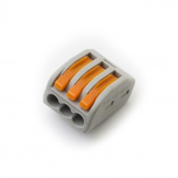Wago 3 Way Electrical Wire Connector