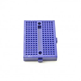 Mini Breadboard Blue 170 Tie Points. 4,5 x 3,3 x 0.9cm