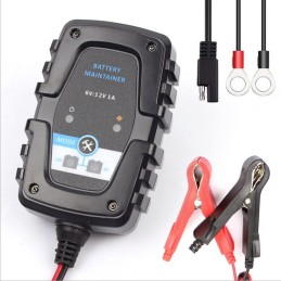 6V/12V 1A smart lead acid battery charger