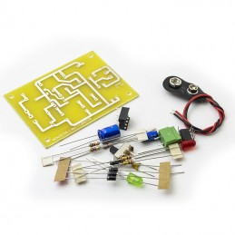 8024 555 Monostable Multivibrator Kit