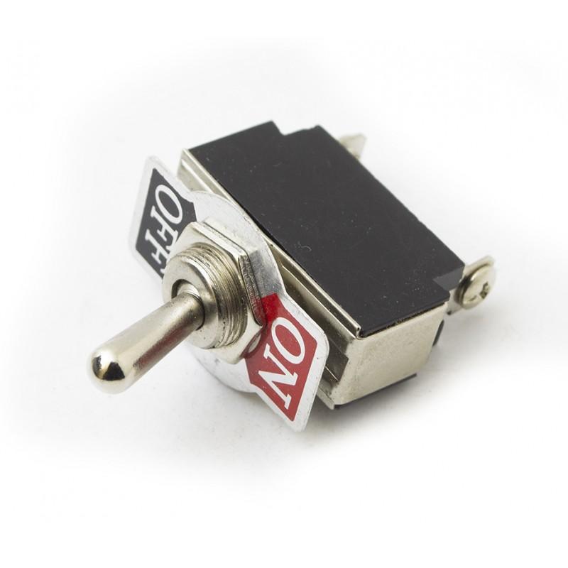 Toggle Switch SPST 10A
