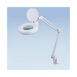 Magnifier Lamp LED, Top Quality Optics Round with Cover and