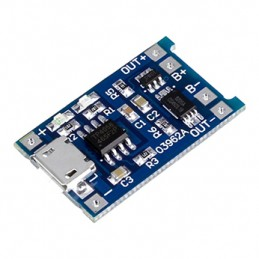 TP4056 1A Rechargeable Charging Board Charger Module MICRO USB