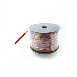 Twinflex 0.2mm Red/Black - per metre