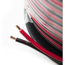 Ripcord Twinflex 4mm Red/Black - per metre