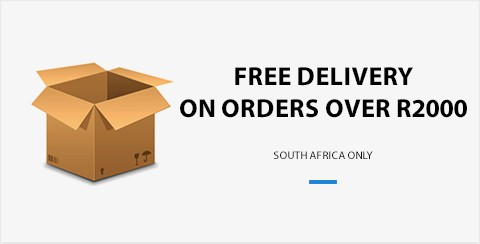 Free Delivery on Orders over R2000