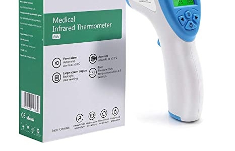 AICARE Infrared Thermometer Non Contact Forehead Thermometer