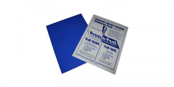 Press-n-Peel Blue Transfer Film A4 Sheet